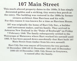Greytown Heritage Trust's Sign Trail